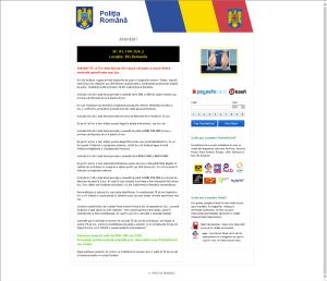 Piracy Trojan_Romanian Police