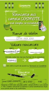 COSMOTE user recharge