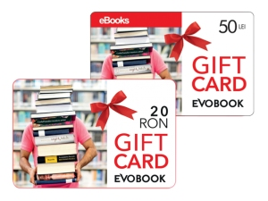 gift card 20 lei si 50 lei evobook