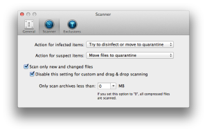 Bitdefender for Mac - Preferences