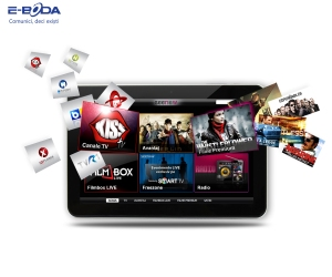 Tableta E-Boda cu aplicatia Seenow