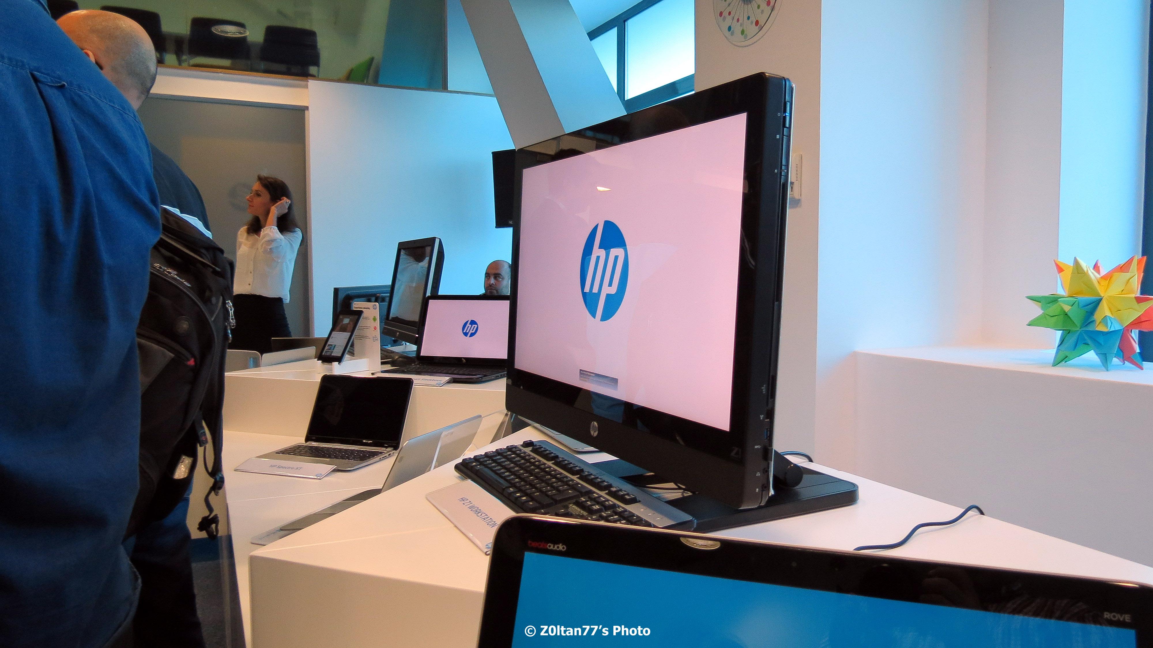 Compania Hp A Deschis In Bucuresti Centrul De Prezentare