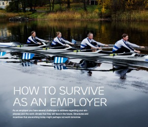 How to survive as an employer