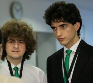 Stefan Iov si Alexandru Glontaru, Colegiul National de Informatica Tudor Vianu, Bucuresti