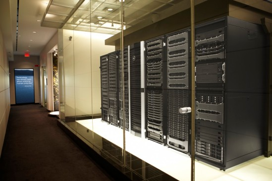 Server Room at the Dell Executive Briefing Center