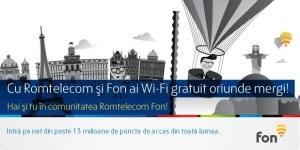WiFi FON de la Romtelecom
