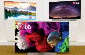 LG 4K OLED TVs