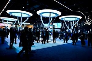 Standul Intel la CES 2015
