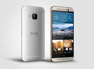 HTC One M9_Silver_Right