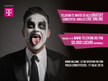 ROBBIE WILLIAMS_livestreaming_Telekom