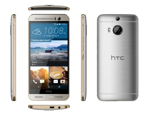 HTC One M9+ Gold on Silver_2