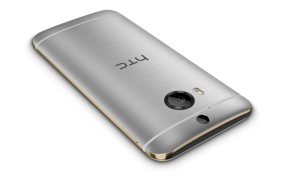 HTC One M9+ Gold on Silver_5