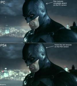 PC vs PS4