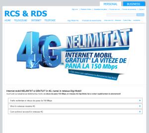 4G Nelimitat RDS